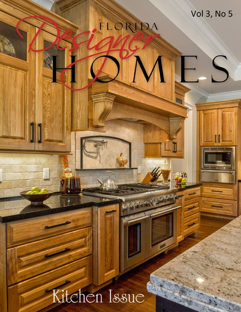 Florida designer homes magazine kitchen design ideas for for Kitchen ideas magazine