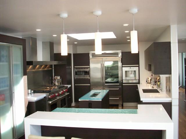 Florin Road Shell Beach contemporary-kitchen