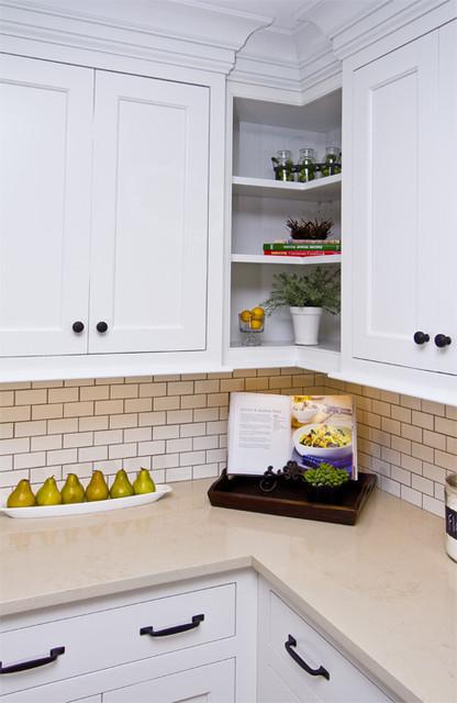 Flush Inset Kitchen traditional-kitchen