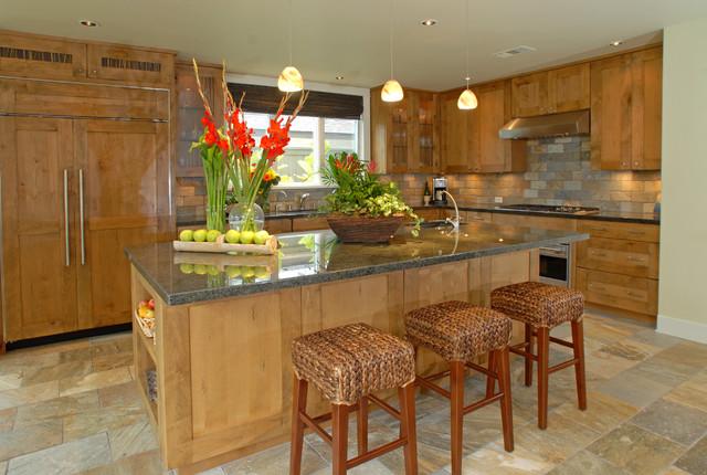 Custom Residential Coastal Home contemporary-kitchen