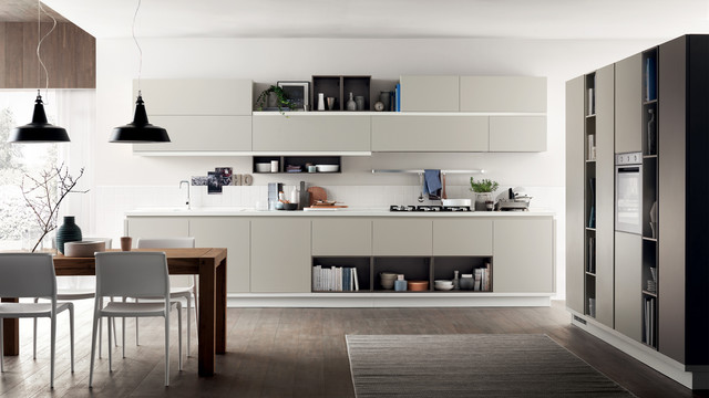 food shelf - scavolini - modern - kitchen - melbourne -