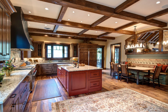Foothills Road - Golden CO - Rustic - Kitchen - Denver - by Jon Eady Photographer