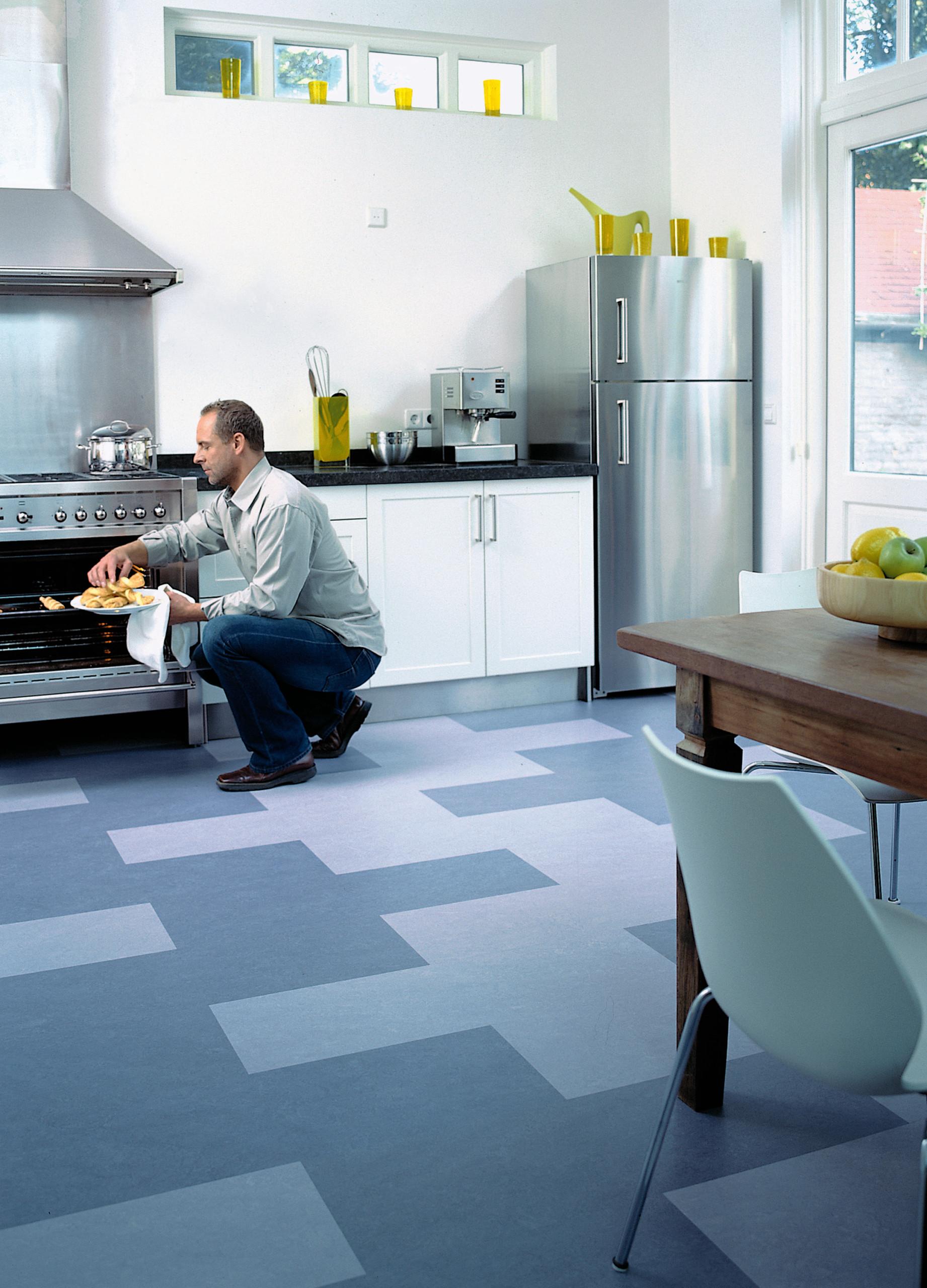 Forbo Marmoleum Click   Natural Linoleum Flooring   Modern ...
