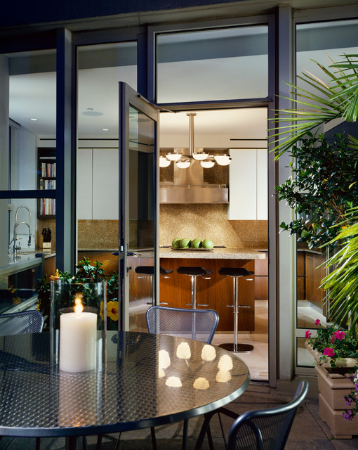 Fordham condominiums contemporary kitchen chicago for Dasal architectural lighting