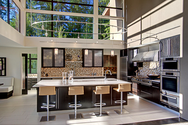 Forest House - Kitchen contemporary-kitchen