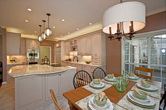 Forest Ridge traditional-kitchen