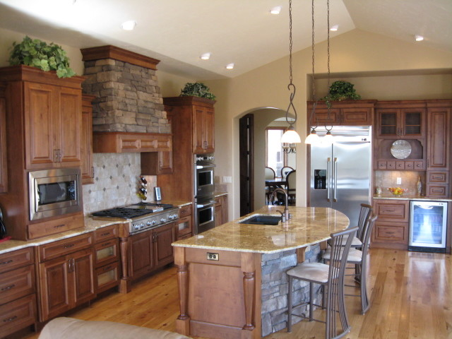 Forest View - Transitional - Kitchen - Denver - by Castle Kitchens and Interiors