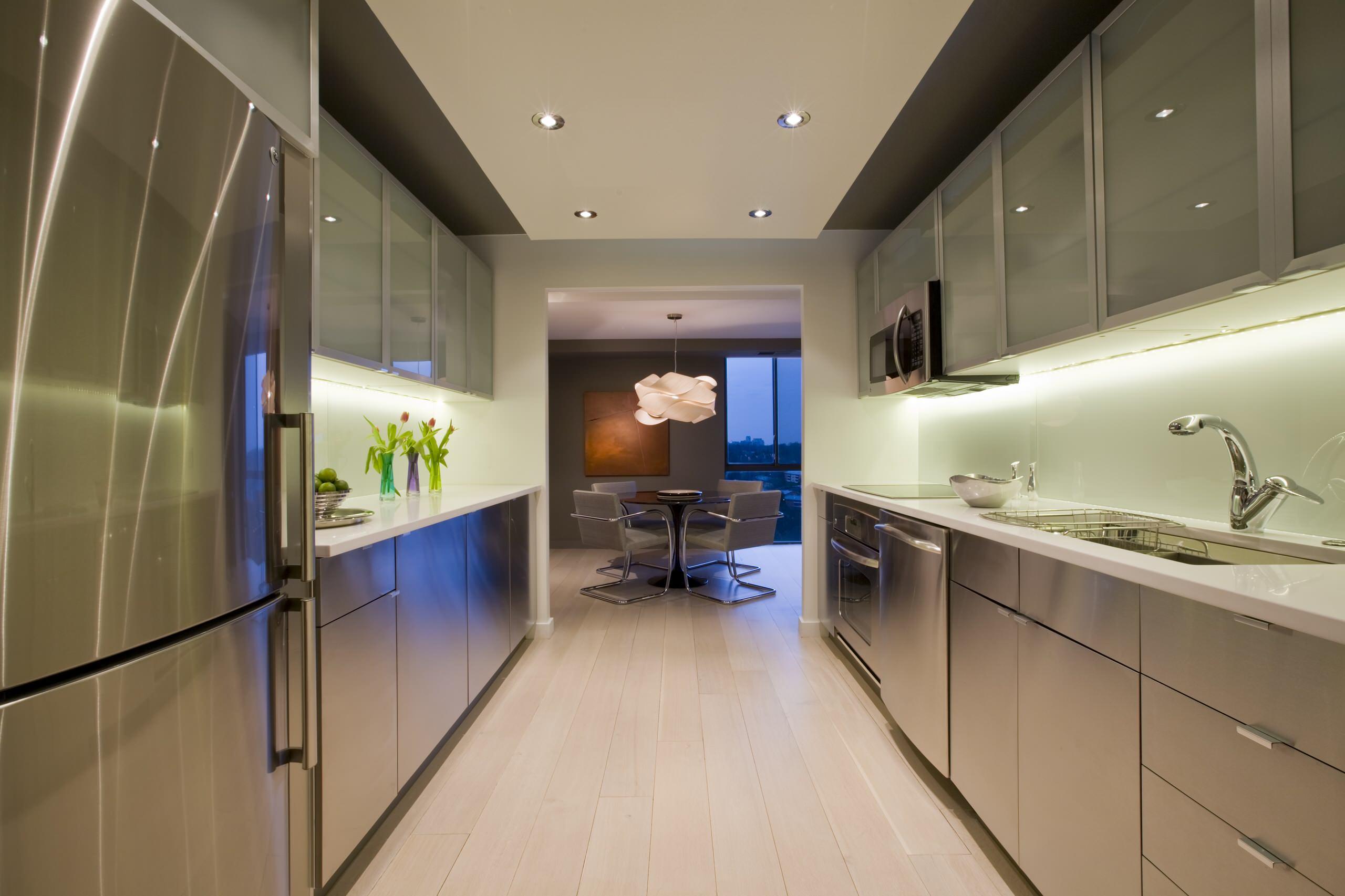 Parallel Kitchen Houzz