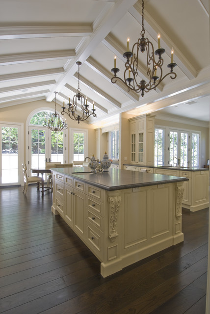 Formal French Kitchen PIedmont traditional-kitchen