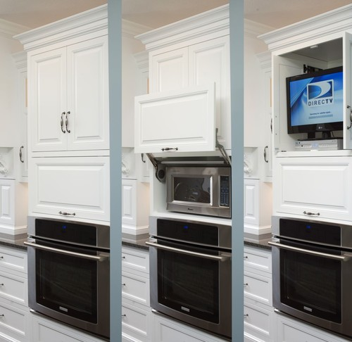 Built-in Microwave & Oven Stacked On