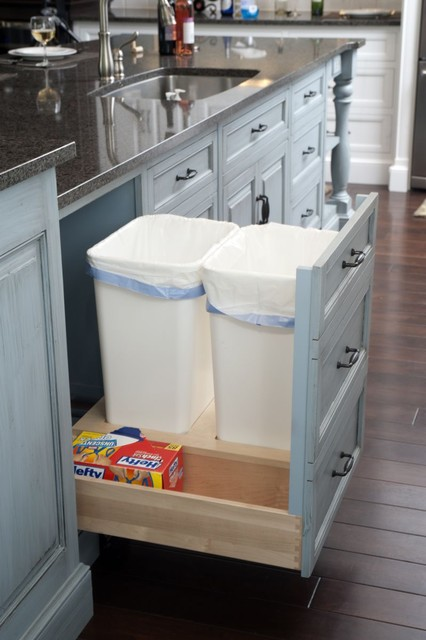 How To Get Your Pullout Waste And Recycling Cabinets Just Right