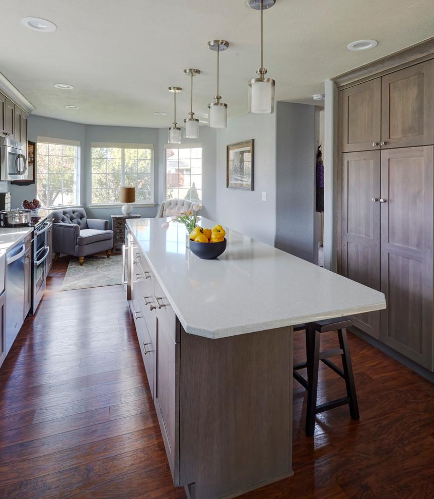Fort Collins Transitional Kitchen Remodel - Transitional ...