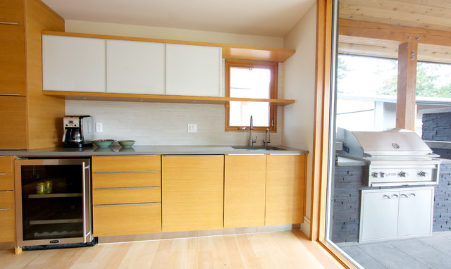 Fort Langley Modern Renovation Modern Kitchen Other Metro By Lacey Construction Ltd