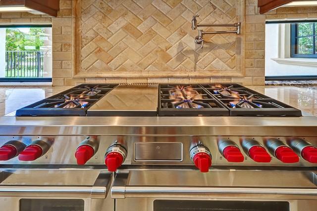 Fort Lauderdale - Coral Ridge Mediterranean Home mediterranean-kitchen