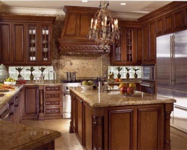 Fort Lauderdale Custom Home Traditional Kitchen Miami By Steven La Fo