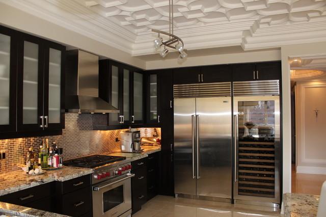 Foster Condo contemporary-kitchen