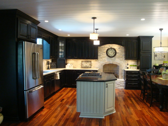 fountain valley traditional-kitchen