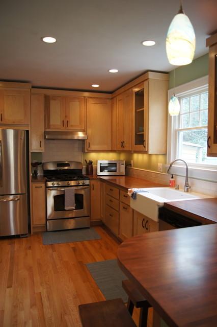 Fox Avenue Home traditional-kitchen