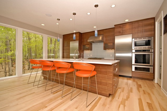 Fox Hills contemporary kitchen