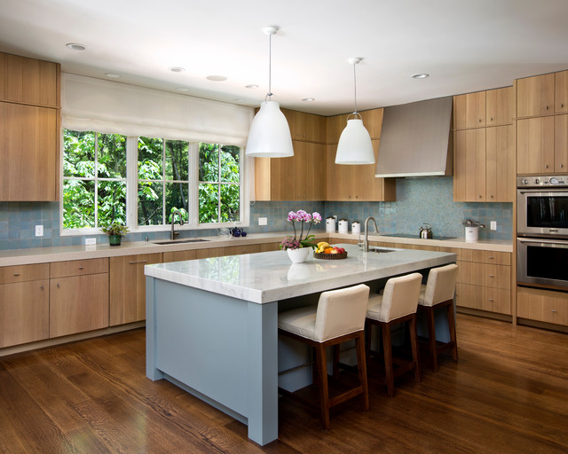 Fox Hollow Contemporary Kitchen San Francisco The