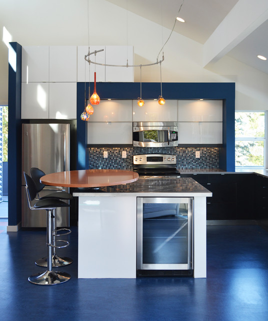 Fox island remodel contemporary kitchen seattle by brett marlo designs - Kitchen designers seattle ...
