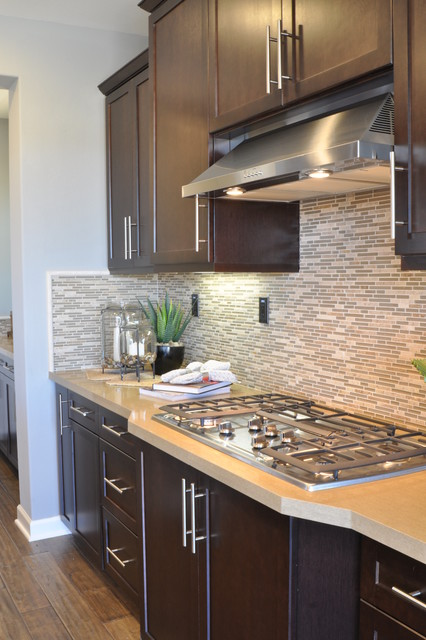 Frameless Cabinetry: Shaker Style Living Spaces transitional-kitchen