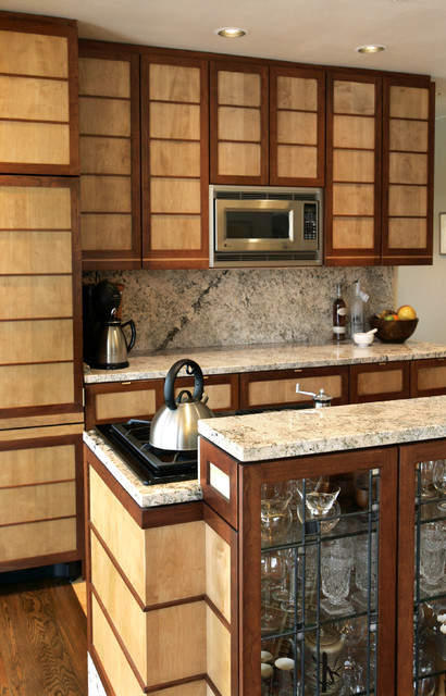 Frank Lloyd Wright Influence Contemporary Kitchen Other Metro By A Better Home