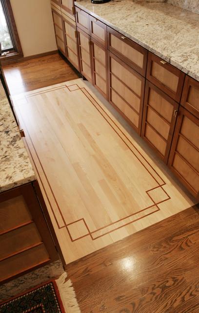 Frank Lloyd Wright Flooring : Frank lloyd wright influence kitchen other metro by