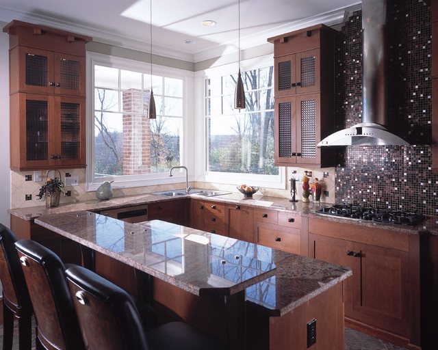 frank lloyd wright inspiration contemporary kitchen other metro by designers plus. Black Bedroom Furniture Sets. Home Design Ideas