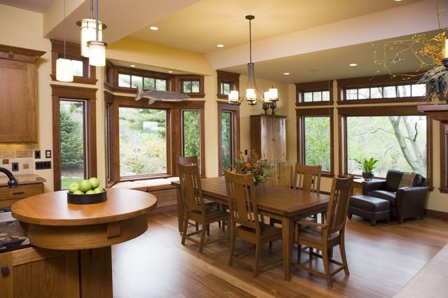 Frank lloyd wright inspired home for Frank lloyd wright interior designs