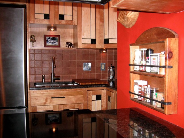 frank lloyd wright inspired kitchen With kitchen cabinets lowes with frank lloyd wright metal wall art