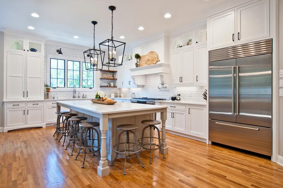 Franklin Farmhouse Feel Kitchen Nashville By Terri Sears And Bath Designer Houzz