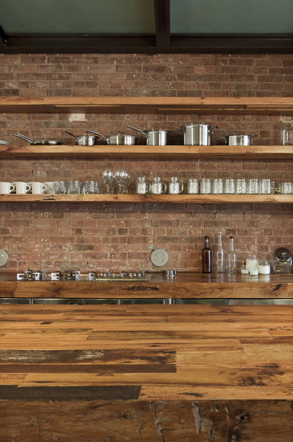 Jane Kim Design industrial-kitchen