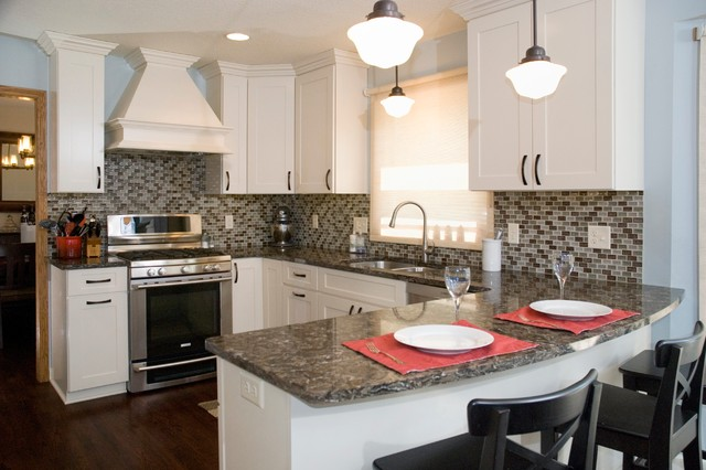 Frankwick kitchen transitional kitchen minneapolis by kitchens by design - Kitchen design minneapolis ...