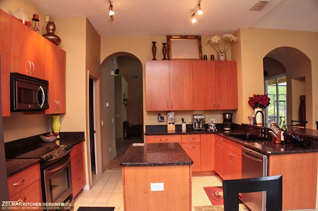 Fraser cabico zelmar kitchen remodel contemporary for Zelmar kitchen designs