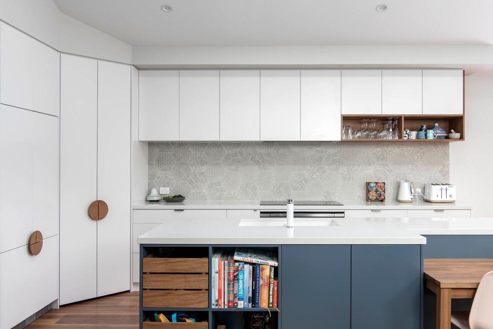 Fraser - Renovation & Extension - Contemporary - Kitchen ...