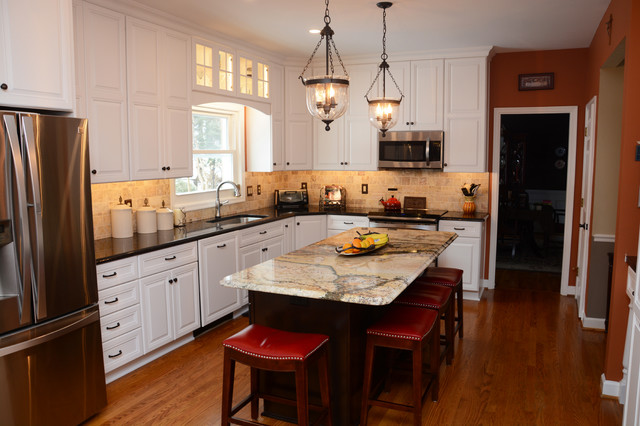 Frederick Md Kitchen Remodel Traditional Kitchen Dc Metro By Cabinet Discounters Inc