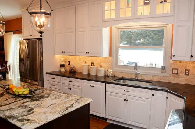 Frederick md kitchen remodel traditional kitchen dc metro by cabinet discounters inc - Kitchen designers in maryland ...