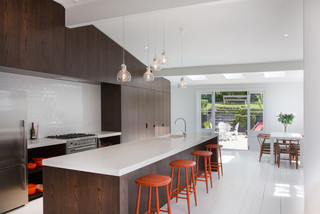 Freemans Bay Contemporary Kitchen Auckland By New Wave Construction