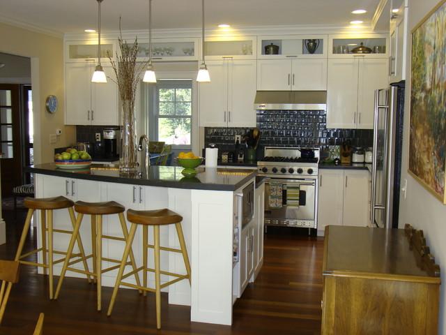 Freeport Kitchen Contemporary Kitchen Portland Maine By Robin Amorello Ckd Caps