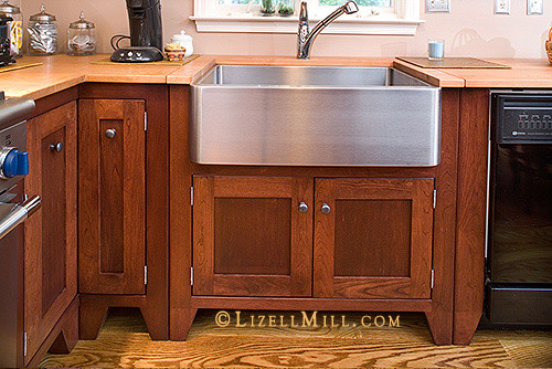 Freestanding Kitchen Cabinets - Traditional - Kitchen ...