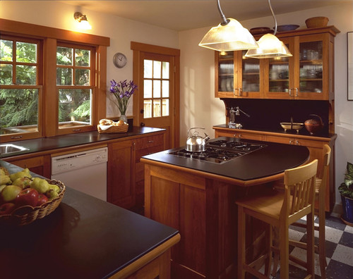Fremont Residence kitchen traditional kitchen
