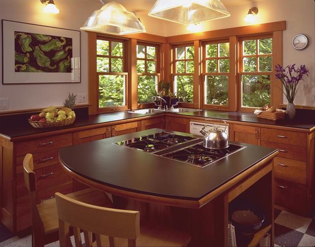 Fremont Residence kitchen traditional-kitchen
