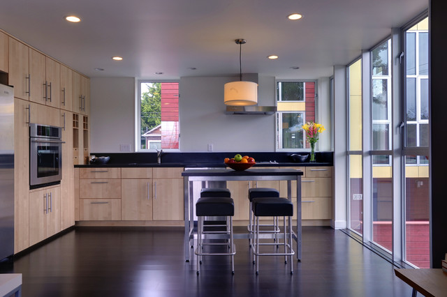 Fremont Townhomes modern-kitchen