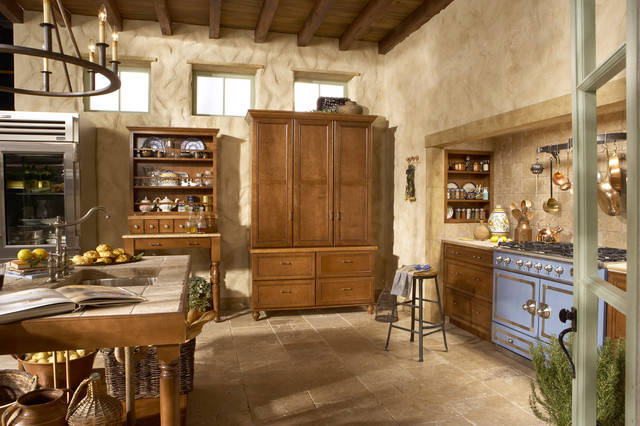 French Barn Kitchen - Farmhouse - Kitchen - minneapolis - by Rod Brewer