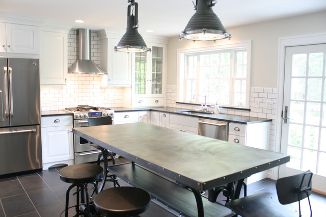 French Bistro Kitchen Farmhouse Kitchen Other Metro