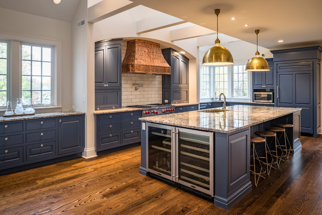 French Blue by Don Justice Cabinet Makers - Country - Kitchen ...