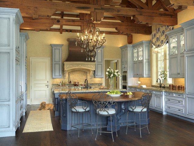 French chateau traditional kitchen st louis by for French chateau kitchen designs