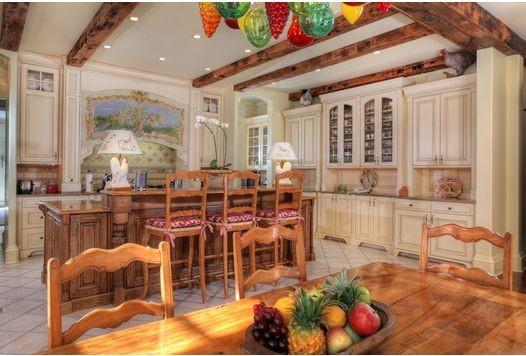 French Chateau mediterranean-kitchen