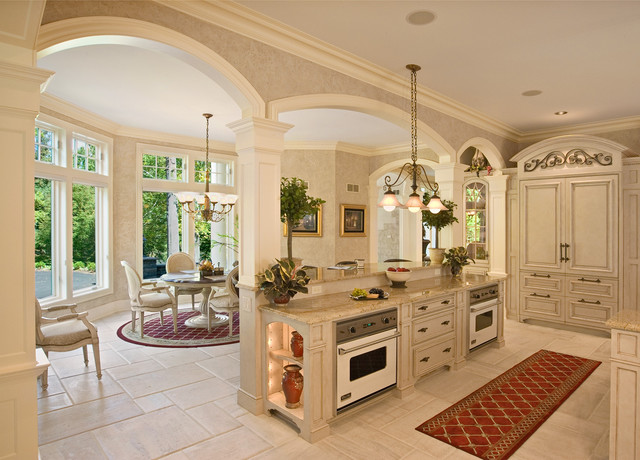 French colonial style kitchen mediterranean kitchen philadelphia by colonial craft - French style kitchen decor ...